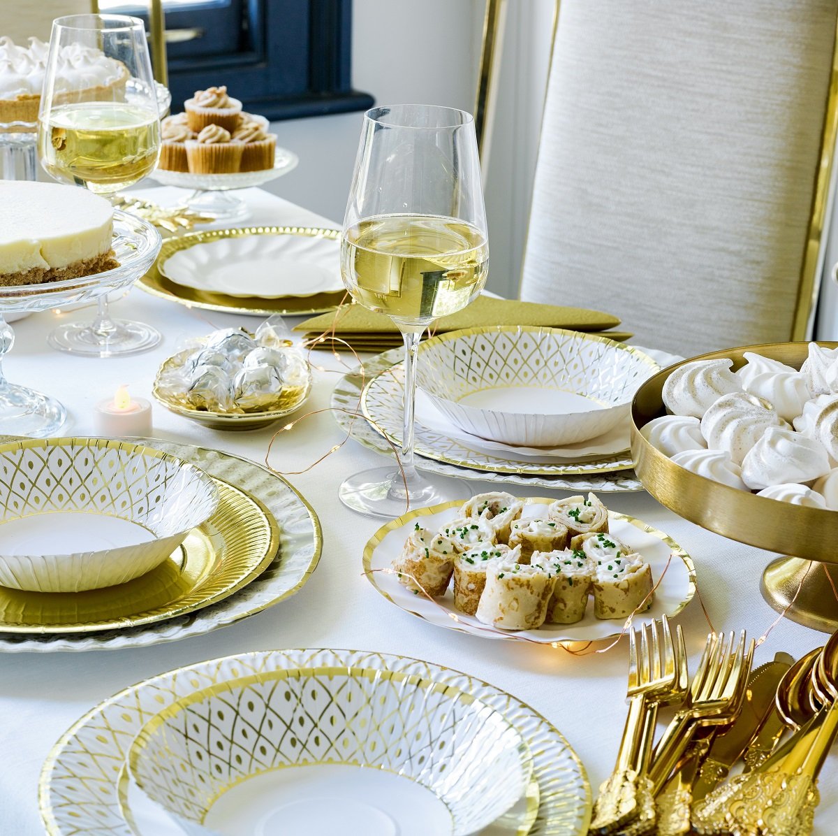 Party Porcelain Gold