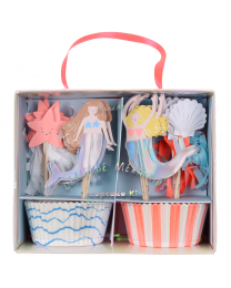 Cupcake kit Mermaids