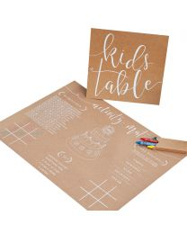 Kids Table spelletjes pakket