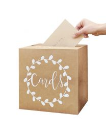 "Enveloppendoos ""Cards"" Rustic Country"