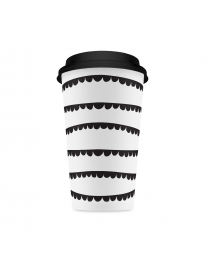 Coffee Cup garland/10pk