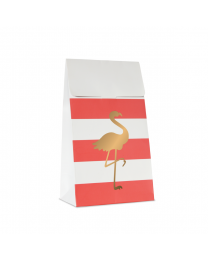 Treat bags Preppy Flamingo