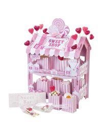 Roze Sweet Shop kraam