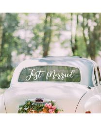 Just Married Auto Sticker