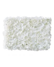 Bloemen backdrop Wall wit