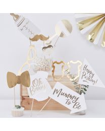 Oh Baby! Babyshower photo booth props