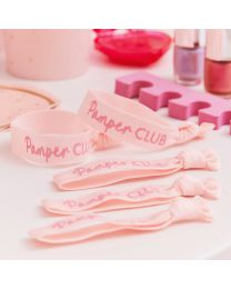 Roze Glitter Party bandje Pamper Club