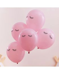 Roze Ballonnen Sleepy Eye Pamper Party