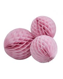 Honeycomb roze 3/pack