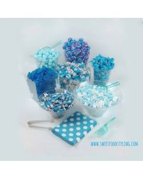 Candy Buffet Kit Blauw 50-60 personen