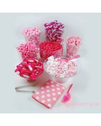 Candy Buffet Kit Roze 50-60 personen