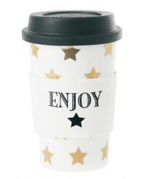 Coffee Mug Gold Stars