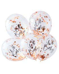 Oh Baby! goud folie Confetti ballonnen Ginger Ray