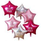 personaliseerbare folie ster ballonnen Stargazer Ginger Ray