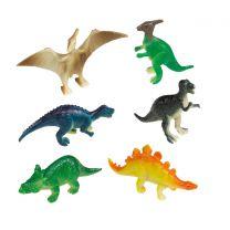Dinosaurus figuurtjes 8 stuks
