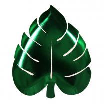 Palm leaf bordjes groen