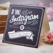 Instagram tafel kaarten
