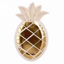 Ananas bordjes