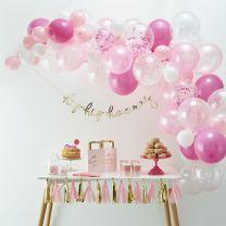 Ballonnenboog Roze