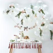 Roze ballonnenboog Gingerray Balloon arch
