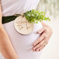 Velvet Sjerp Mummy to Be Botanical Baby shower