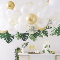 Ballonnenboog Goud Chrome