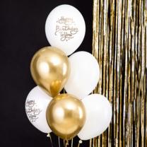 Ballonnenmix Happy Birthday To You