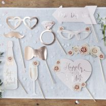 Wedding Photo Booth Props Beautiful Botanics