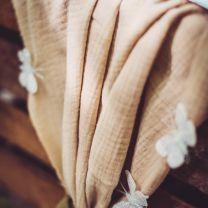 Tafelloper beige katoen