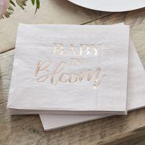 Servetten Baby in Bloom