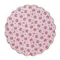 Vintage bloemen servetten