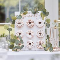 Eucalyptus Slinger met lampjes