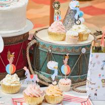 Circus Parade Cupcake kit Meri Meri