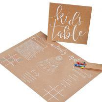 Kids Table spelletjes pakket
