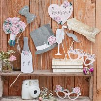 Photo Booth Props Rustic Country