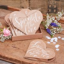 Hartvormige confetti zakjes Sprinkle the Love