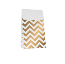 Treat bags White Gold