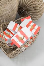 Treat bags Preppy Flamingo