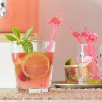 Cocktail stirrers Flamingo