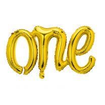 Gouden Folieballon ONE