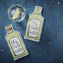 Let the party be GIN servetten