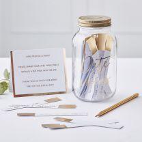 Alternatief Gastenboek Date Jar