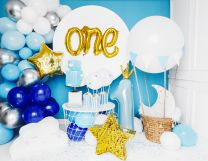 Folieballon One Goud