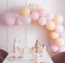 Ballonnenboog Blush Pink Peach