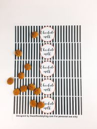 Flesjes label Chocolademelk