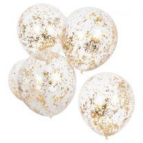 gouden confetti ballonnen Ginger Ray