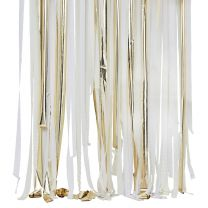 Backdrop Streamers Goud Metallic