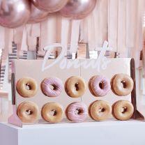 Donut Standaard Rosé Goud