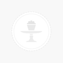 Peach ballonnen met goud glitter confetti