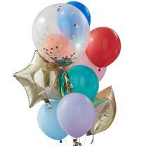 Ballonnenmix Multi kleuren
